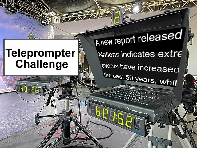 Teleprompter-UN Report
